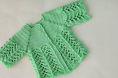 7 - Crochet IMAGEN Chambrita rosa muy fácil y sencilla. MAJOVEL CROCHET
