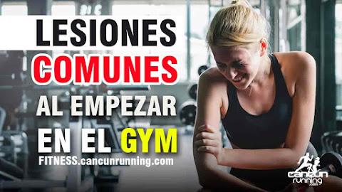 lesiones comunes en el gym