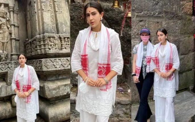 सारा अली खान पहुंची कामाख्य देवी मंदिर