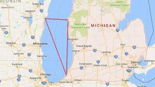 Mapa Trójkąta Michigan