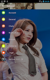 BBM MOD AOA Hyejeong v3.0.1.25 APK Terbaru Transparan Theme