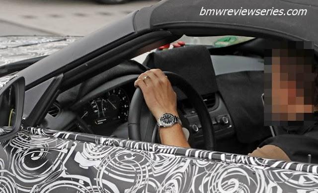 2018 BMW Z5 Interior