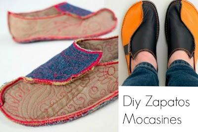 Como hacer  Zapatos Mocasines Paso a Paso