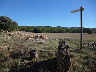 Salida de Saceda-Trasierra. PR-CU 40