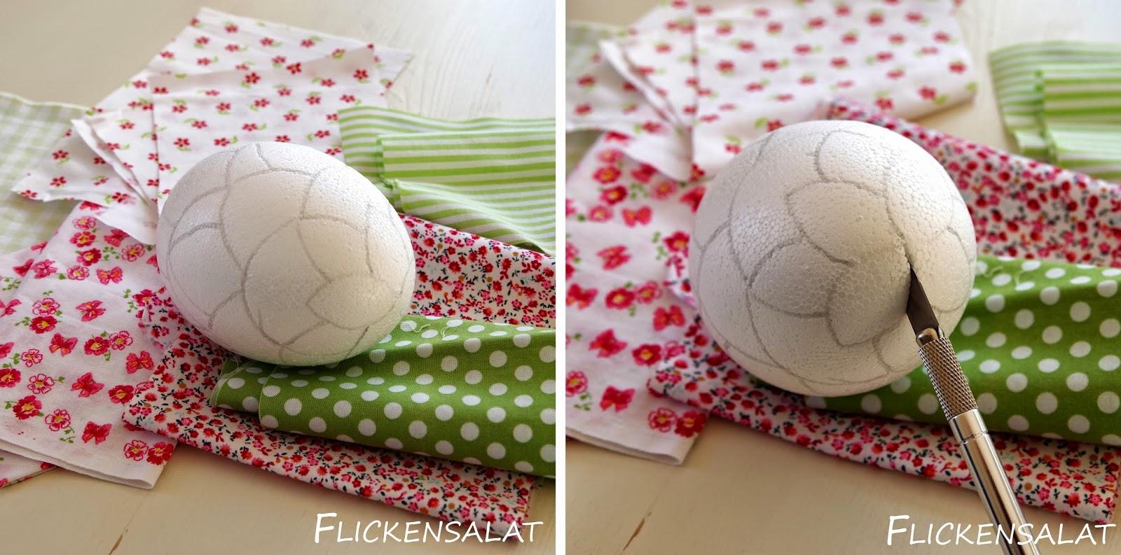 flickensalat patchwork eier diy. Black Bedroom Furniture Sets. Home Design Ideas