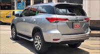 Toyota Fortuner 2.7V 4x4 AT 2016 đã qua sử dụng màu Bạc