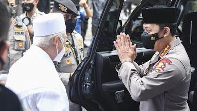 Safari Kapolri Jenderal Sigit Berlanjut ke Markas Para Habib