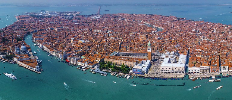 Венеция, Италия вид сверху
