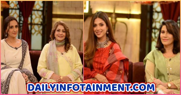 Sonya Hussyn and Momal Sheik Beautiful Pictures with their mothers