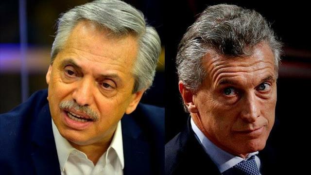 Fernández a Macri: entregar Argentina al FMI no es nada heroico
