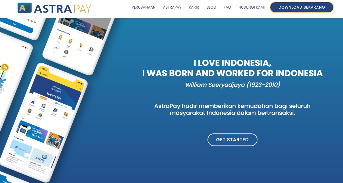 SS Website AstraPay
