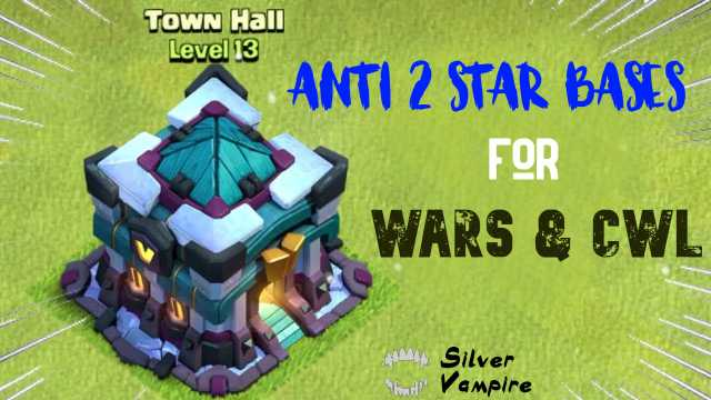 10+ Th13 Anti 2 Star War Base | Anti Everything in 2020