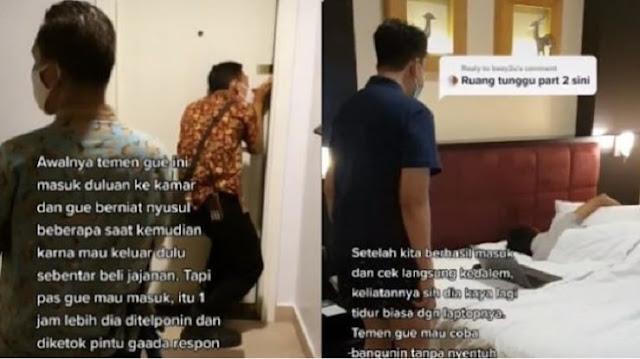 Sejam Lebih Tamu Hotel Tak Respons, Ternyata Ini yang Terjadi Setelah Pintu Dibuka Paksa