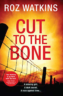 The Writer's Pet: Cover of Cut to the Bone, by Roz Watkins