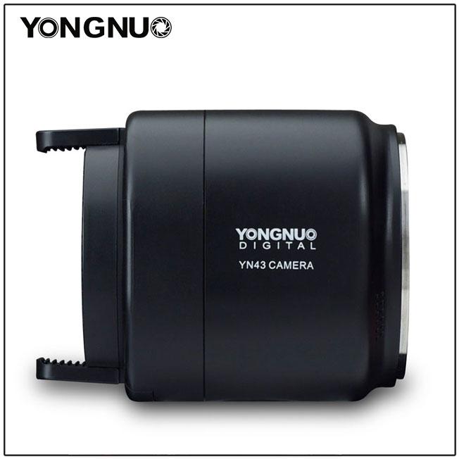 Yongnuo YN43, вид сбоку