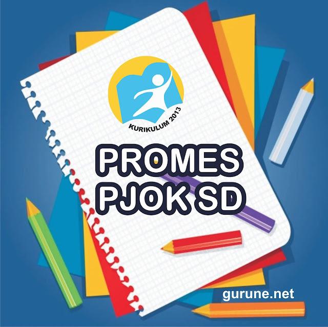 Program Semester  PJOK SD Kurikulum 2013 Revisi