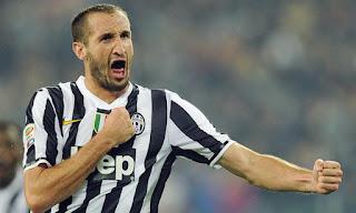 Juventus Chiellini out per almeno due partite Serie A video