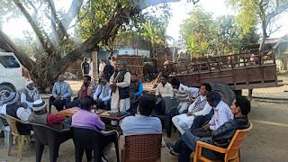 """ब्लॉकों में लगभग सात """"संगठन सृजन अभियान"""" की बैठकों का हुआ आयोजन"""