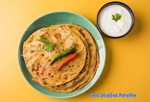 Delicious and easy to make Curd Stuffed Paratha at home