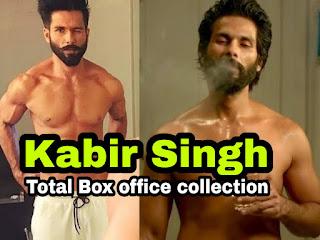 Kabir Singh Total Box office collection - कबीर सिंह टोटल बॉक्स ऑफिस कलेक्शन