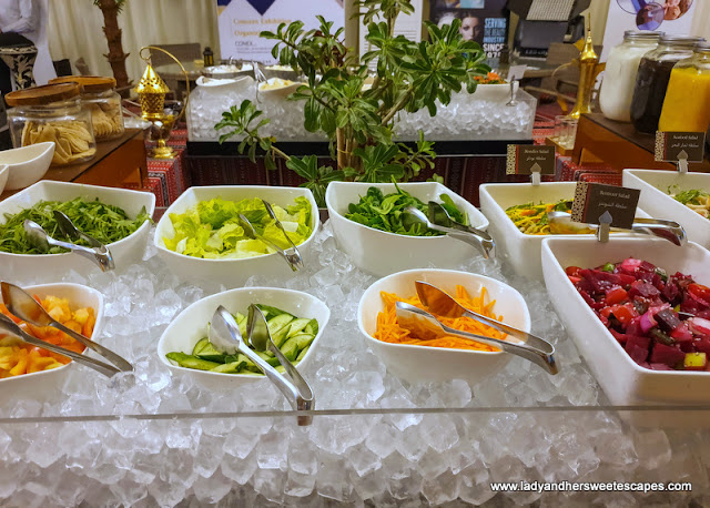 suhoor salad bar in Hili Rayhaan by Rotana