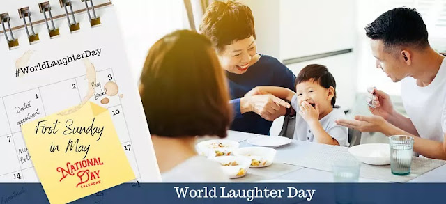 How is World Laughter Day celebrated?