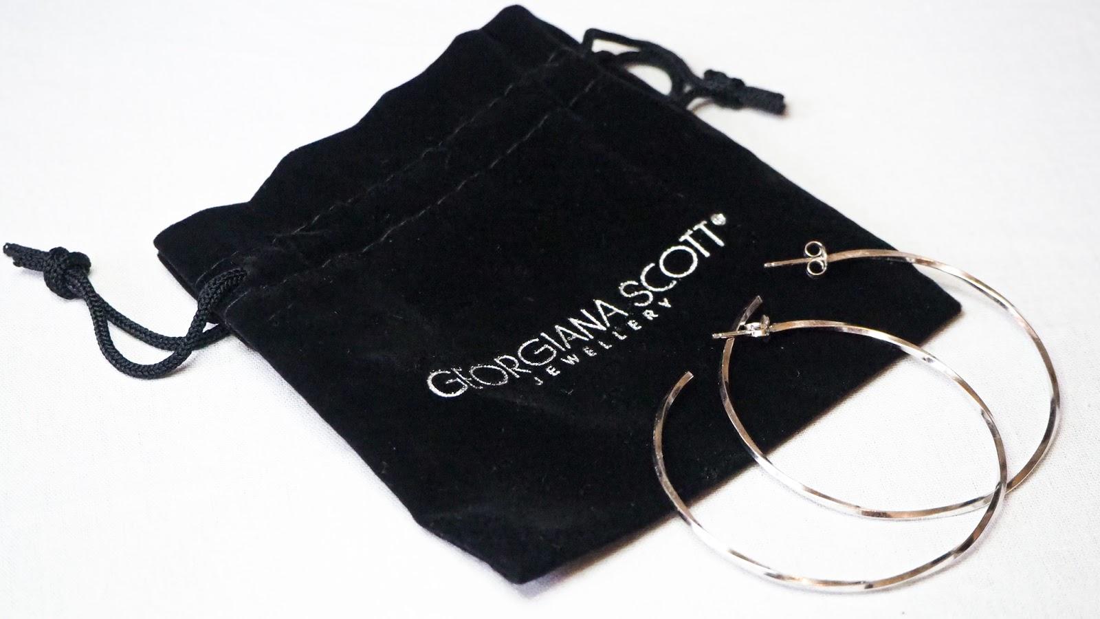 Georgiana Scott Silver Hoops