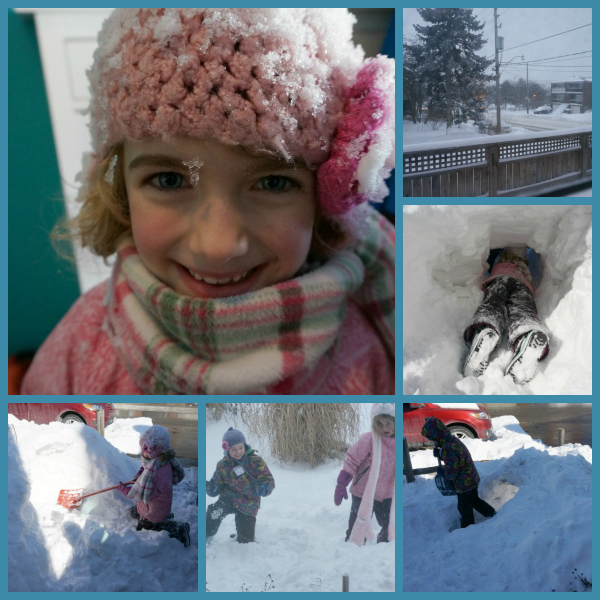 outdoor play ideas snow