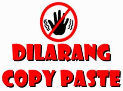 LENGKAP : Kumpulan Kode Anti Copas (Copy Paste)