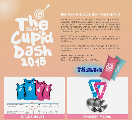 The Score Cupid Dash 2015