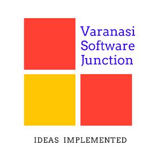 Varanasi Software Junction:Logo