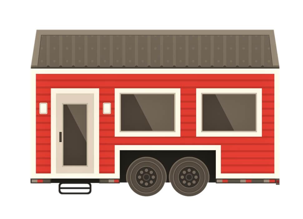 Tiny House op wielen