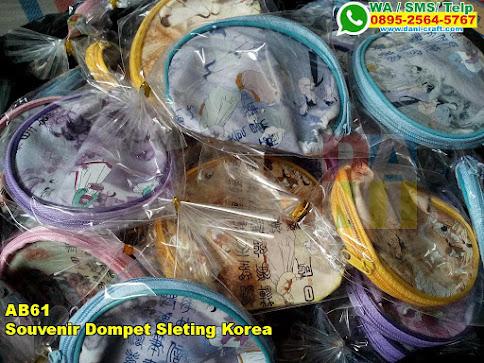 Souvenir Dompet Sleting Korea