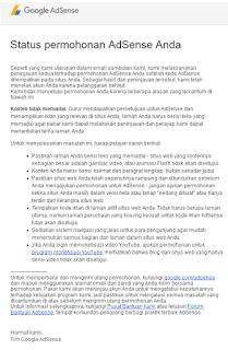 Ciri Jika Akun Google Adsense Sudah Diterima - blog