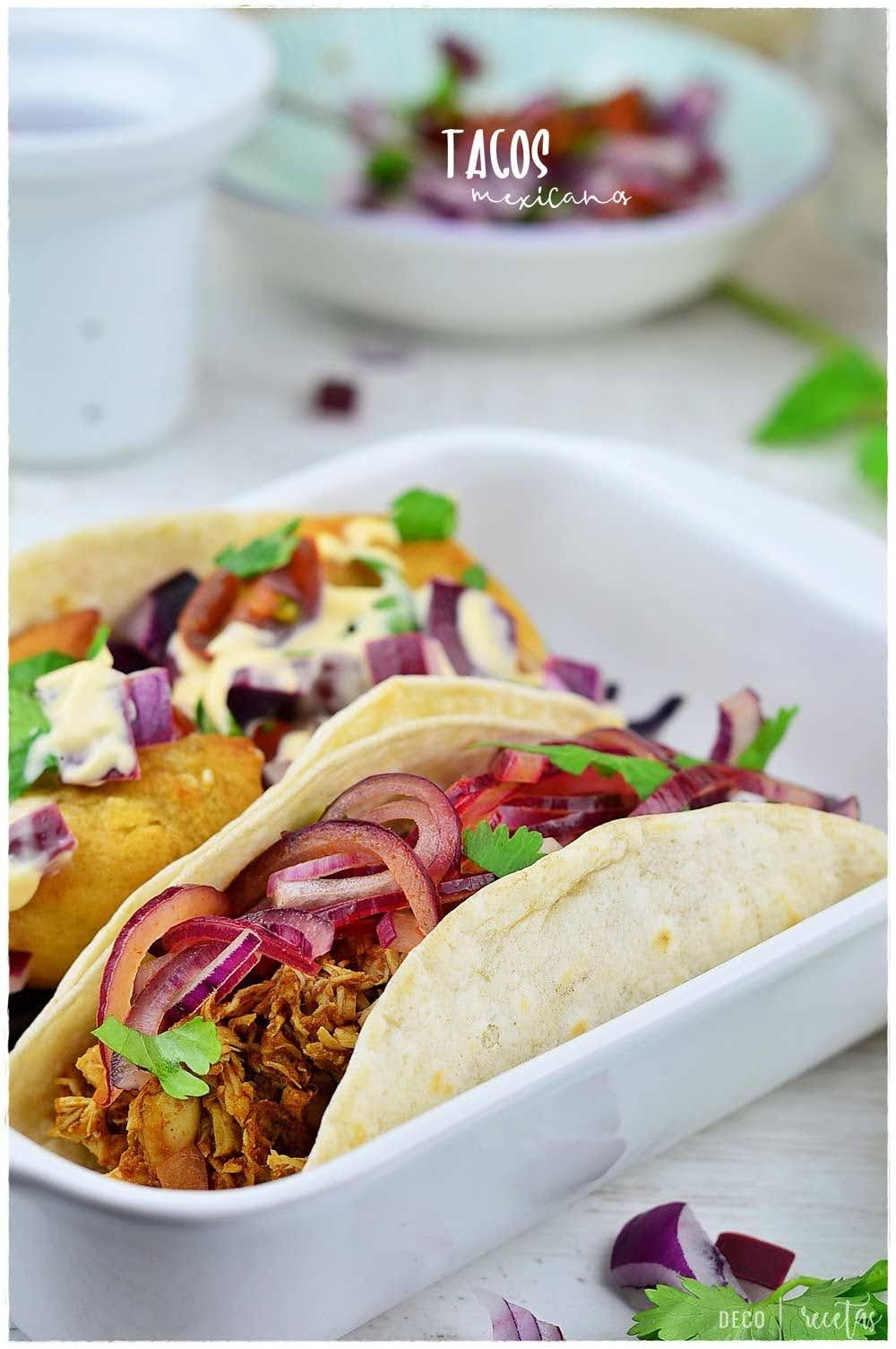 Tacos- recetas de tacos mexicanos: Taco ensenada de camarón