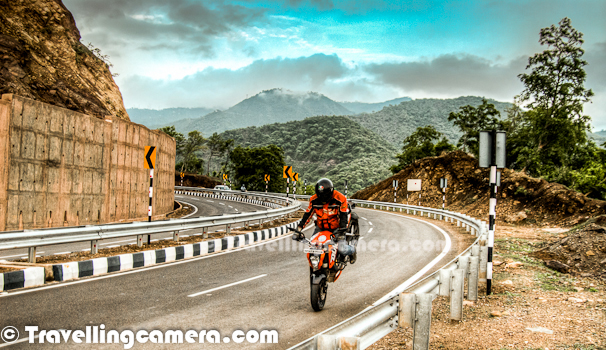 This Photo Journey shares some of the photographs of Himachal's first BAJAJ KTM DUKE200 and it's proud owner Mr. Aneesh Airborne Awasthi. If you don't know Aneesh, check out following links before proceeding with the latest Journey - CLIMBING, FALLING, STUMBLING & FALLING on the way to Hatu Peak in snow...Motorbike Stunts by Aneesh...This photograph is clicked at Golf-course of Chandigarh Cantonment area at Chandi Mandir... Before actual shoot, it was a warm up session to have a round inside wonderful Cantonment area and see if we find something interesting by keeping security measures in mind... But finally we moved to the new Himalayan Expressway which bypasses Pinjore, Kalka & Parwanoo to save 1.5 Hrs traffic in these main towns. KTM Duke200 looks amazing in above photograph with lush green golf grounds...Aneesh bought the bike KTM DUKE200 in the month of May after getting it 2 months in advance. Have enjoyed riding her more in mountain's because of her responsive engine. He kept on going to Palampur and Shimla frequently with KTM DUKE200. Most capable bike in its segment KTM is world's best dirt bike manufacturer. Duke is a street bike. KTM is more renowned for its dirt bikes, which have made their name across the globe in race/rally.Aneesh wishes to travel throughout the Trans-Himalayas on KTM DUKE200 and upgrade to bigger version soon. Getting sponsored for any kind of such endure is must and this is something that Aneesh is trying for. KTM DUKE200 is a head turner and attention gainer too. People keep on clicking nd asking about KTM DUKE200 from him...Aneesh also love stunting and this was first time that he was trying his stunts on KTM DUKE200. This is how KTm Website describes KTM Bikes - 'Lightness rediscovered. Maximum riding fun, powerful propulsion and optimum user value thanks to thoroughbred motorcycle technology. Featherweight chassis with high-quality components and first-class brakes. And dynamic cornering fun guaranteed with the surprisingly full-bodied and lively power of the cultivated, new four-stroke single-cylinder with injection, six-speed transmission and low fuel consumption. Precisely what you'd expect from a genuine KTM.''HP 37 D7900' - KTM DUKE200 (This is Aneesh's second vehicle registered with number 7900 in Palampur Town of Himachal Pradesh.KTM Duke 200 is very distinctive and attractive sports bike which carries lots of attitude with it. It has a great charismatic effect which spells bounds the riders with its unmatched appearance and racer look. The front portion of the bike has only cowl which has stylish halogen headlight in it which is very well stacked and looks very elegant. The straight handle bars of the new bike KTM Duke 200 is also very sporty and also very comfortable, specially designed for racing purpose. The stylish turn indicators are placed beneath the front cowl and looks very stylish and unadulterated.KTM DUKE200 appears to be very small and the rider feels that he is riding a mini bike. The distinctive center console may comprise of fuel gauge, speedometer, trip meter, turn indicator signal, etc. The stylish and unmatched fuel tank of the new KTM Duke 200 is also very appealing and has a feel of racer bike in it. The foot pegs available in the bike are very stylish and tuck in neatly when unused. The rear portion of the bike is also very impressive with sweeping style side indicators.Above photograph is shot on Himalayan Expressway, while we were going from Chadigarh to Parwanoo through Pinjore....Kraftfahrzeuge Trunkenpolz Mattighofen – commonly known as KTM, is one of the brilliant Motorbike Manufacturer. KTM is quite focused on their street line-up and that annihilates whatever competition is left on the road. KTM Bikes are edgy, mad, exceptionally capable, thoroughly engineered and fundamentally awesome. KTM has partnered with Bajaj in India and now folks are getting mad to get this machine. One needs to book in advance, to get it after 2 months of booking. KTM Duke 200 is in great demand. KTM DUKE200 is better known as the most potent streetbike to have ever been manufactured in India.After wonderful evening on Himalayan Expressway, it was time to get some quick clicks in hues of Sunset. Although I wish I had reflectors and extra battery with me :)More details about KTM DUKE200 can be checked on their official website at - http://www.ktm.com/naked-bike/200-duke-eu/#.UBJPpaMS6SoIt was time to have some fun after wonderful ride on KTM DUKE200 on Himalayan Expressway. Aneesh, Kshitiz and I thoroughly enjoyed this evening and more photographs are yet to come... This was first time, I was on a superbike with 120+ speed... It was literally flying on Himalayan Expressway, which were facing huge hills covered with clouds... We also shot some videos, which will be available in few days...Here comes Mr. Aneesh Airborne Awashthi !!! ... with his KTM DUKE200 in background... He loves to be on road and walking around the milestones/boards which help him to always do the things right... Aneesh is all set for his Trans-Himalayan Ride on KTM DUKE200 and we wish him best for the same !!!
