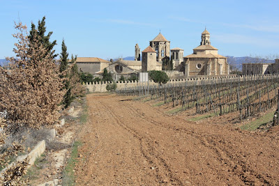 Poblet monastery in Catalonia