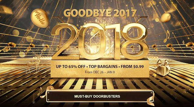 【GearBest】2018年へカウントダウン!OP5は482ドル、451ドルのMi MIX 2、Xiaomiスマホの福袋も!ラストチャンス!