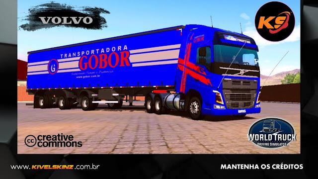 VOLVO FH16 750 - CONJUNTO GOBOR TRANSPORTES