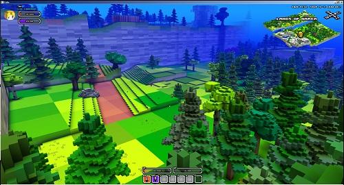Cube World là một trong những tựa game hóa thân chiến tranh sang trọng Minecraft đáng để người chơi thử qua