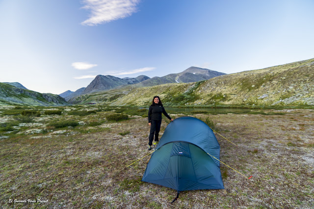 Acampando en Rondane - Noruega