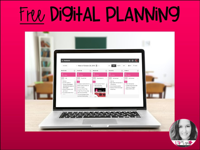 FREE Digital Lesson Planning