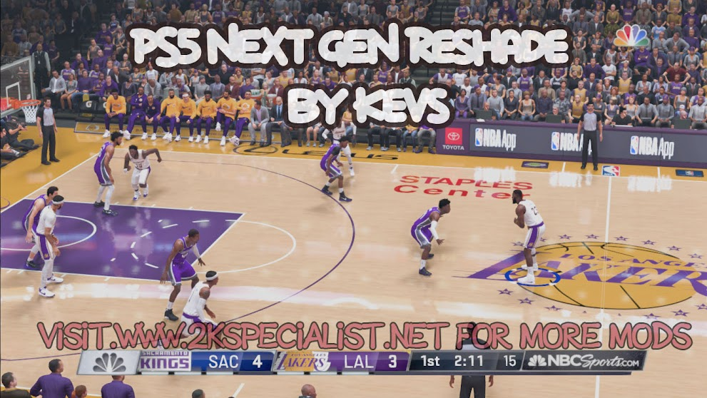NBA 2K21 BEST PS5 NEXT GEN Reshade By Kevs  [FOR 2K21]