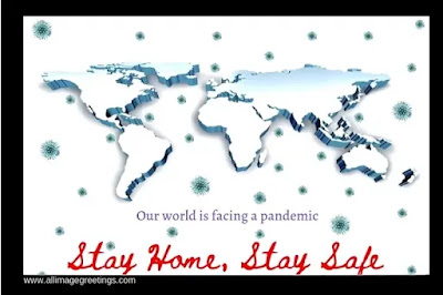 stay home stay safe awareness