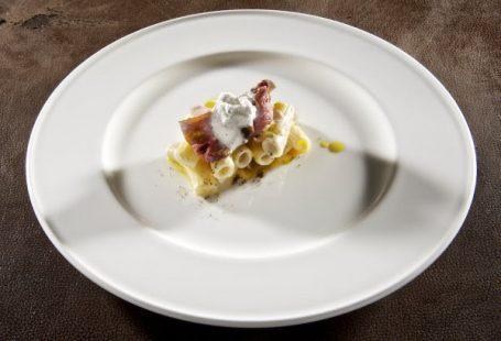 CacioPepe, carbonara e genovese- Davide Scabin