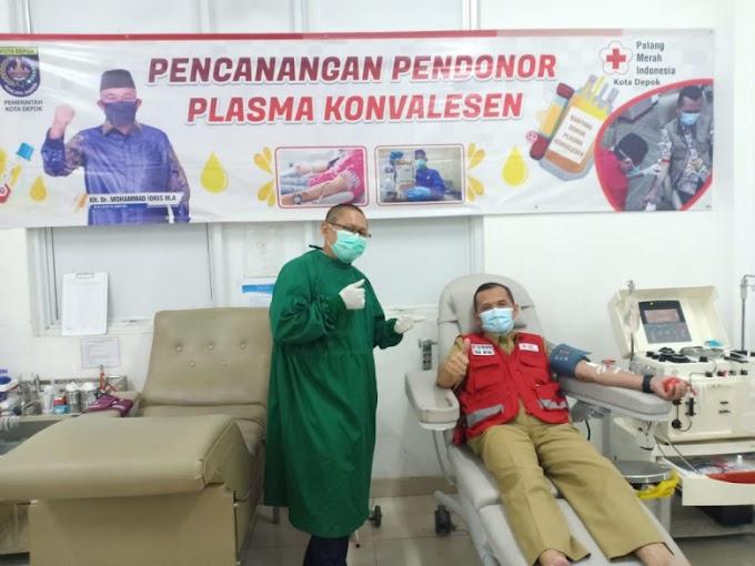 Ketua PMI Depok Ajak Penyintas Covid- 19 Donor Plasma Konvalesen
