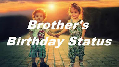 Birthday Status For Brother