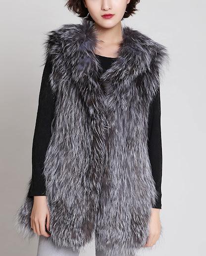 Best Genuine Real Fox Fur Vests