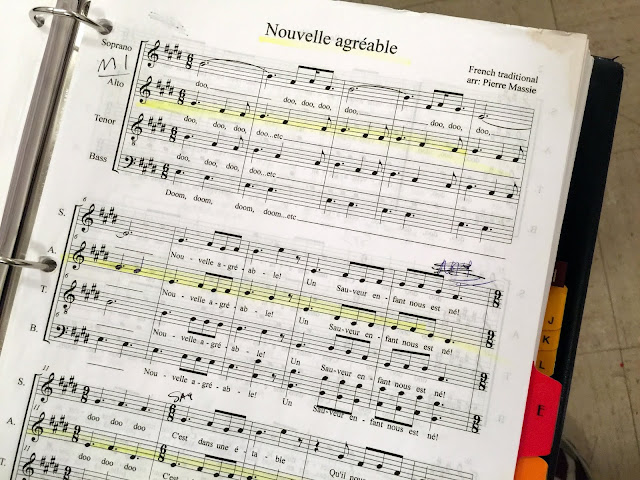 French Carol sheet music
