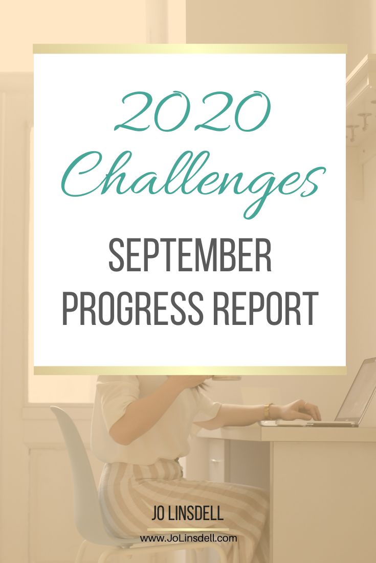 2020 Challenges: September Update